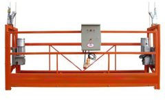 Gluggahreinsun ZLP630 Rope Suspended Platform Gondola Cradle With Hoist LTD6.3